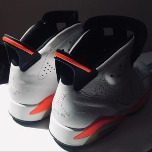 Jordan Shoes - 2010 Air Jordan Retro 6 Infrared Size 9.5
